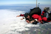 G-skydiving
