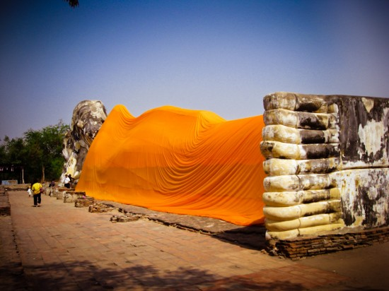 Reclining Buddha Ayutthaya