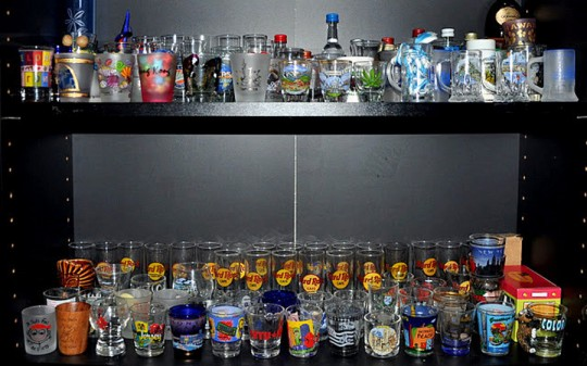 Shot Glasses Around-the-World Souvenirs