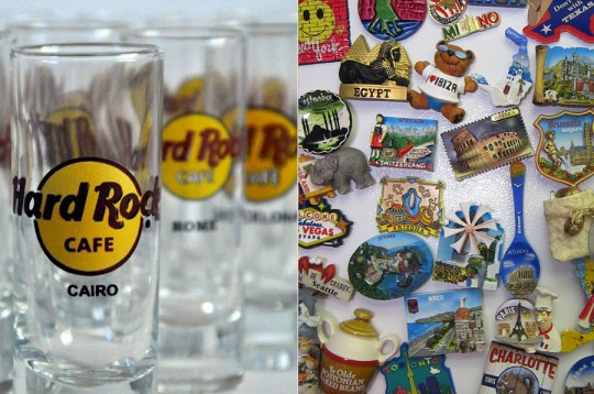 Souvenirs - Magnets and Shot Glasses