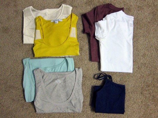 Packing - Tops