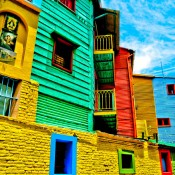 La Boca in Color