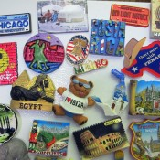 Magnet Around-the-World Souvenirs