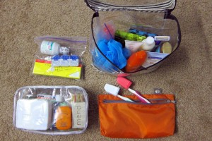 Packing - Toiletry
