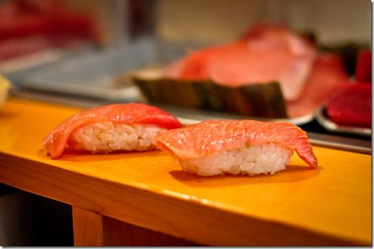 chu-toro & o-toro - Sushi Dai