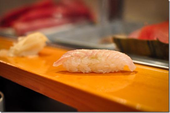 hirame (flounder) - Sushi Dai