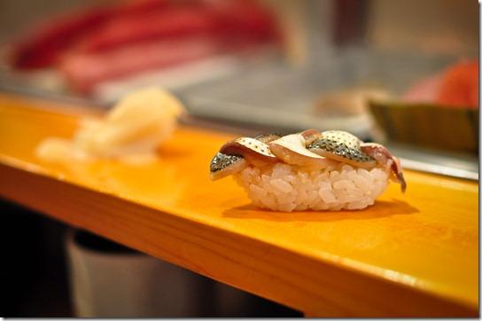 kohada (gizzard shad) - Sushi Dai