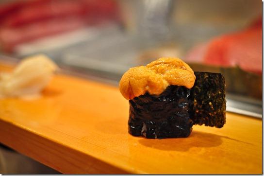 uni (sea urchin) - Sushi Dai