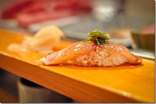 kajiki (swordfish) - Sushi Dai