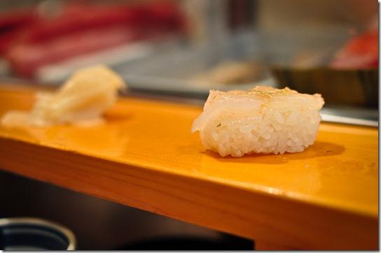 shira-ebe (baby shrimp) - Sushi Dai