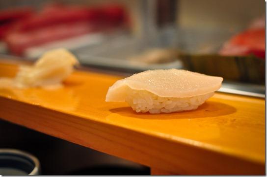tairagai (pen shell) - Sushi Dai