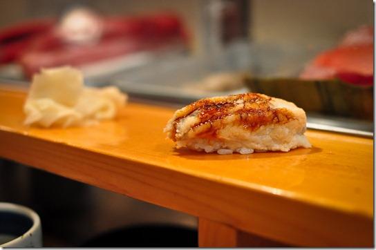 anago (sea eel) - Sushi Dai