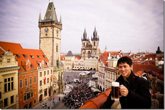 11 reasons to fall in love with prague gq trippin for Terrace u prince prague