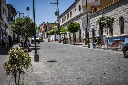 arequipa streets