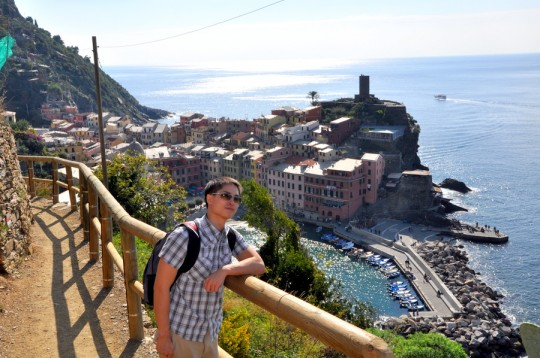 hiking vernazza