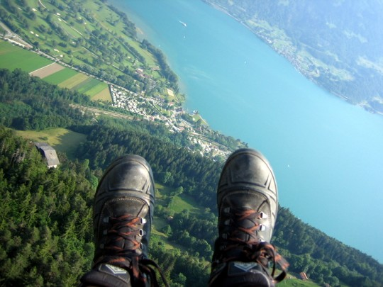 paragliding switz