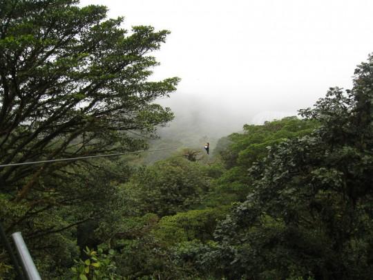ziplining-monteverde