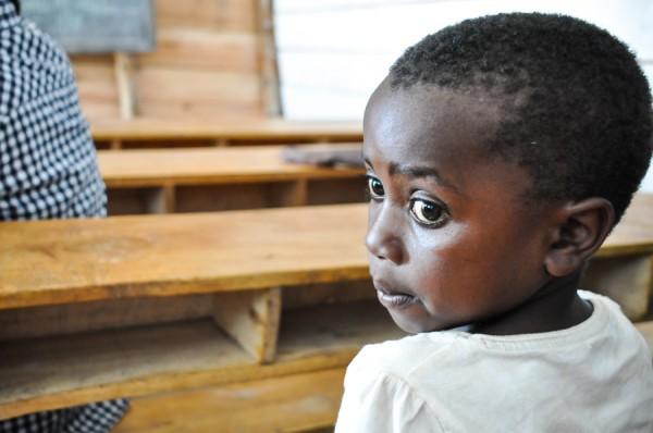 African girl orphan