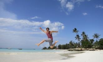 Zanzibar Jumping in Nungwi