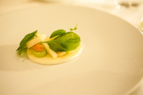 French Laundry hearts of palm salad