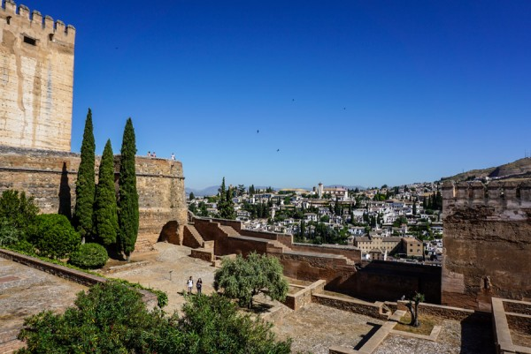 Alhambra Granada Tower View