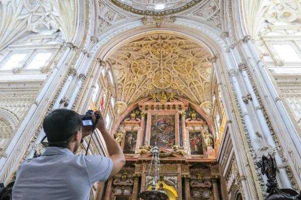 cathedral cordoba camera