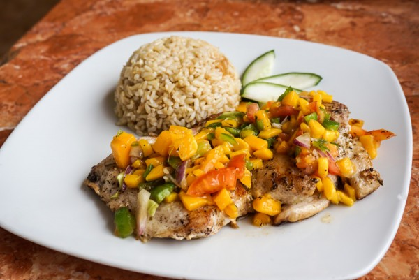 El Nido Art Cafe Mango Fish Rice