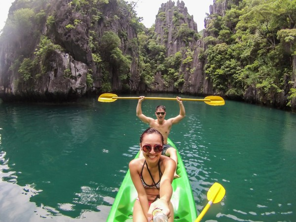 Kayaking Big Lagoon El Nido Palawan