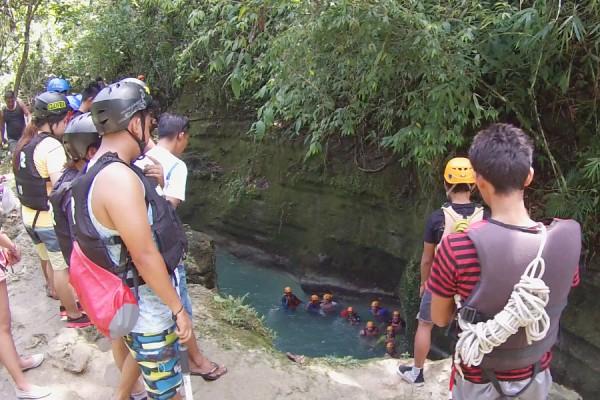 start-moalboal-canyoning