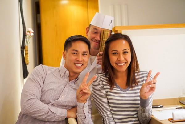Chef Masakatsu Oka
