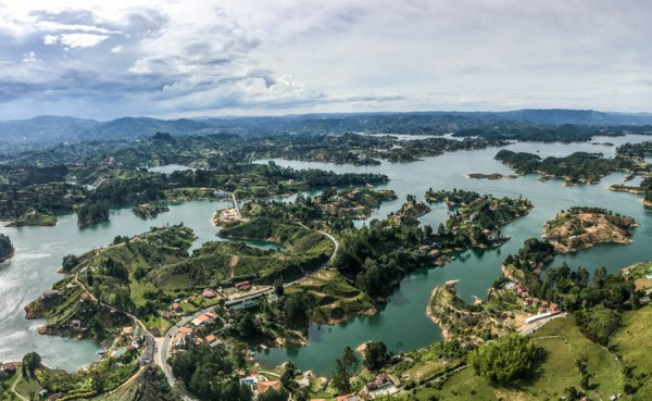 Guatape Top Viewpoint