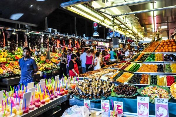 La Boqueria Barcelona Fruit